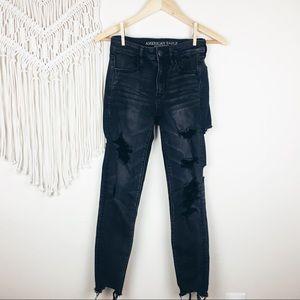 American Eagle • Distressed Hi-Rise Jeans